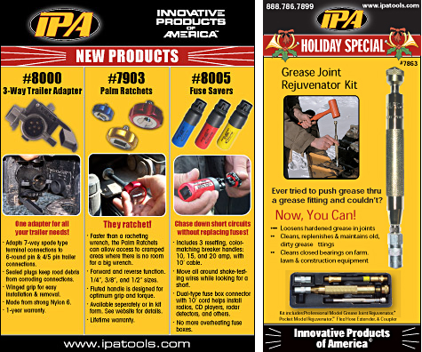 Two Advertisements for IPA Tools
